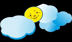 Σύννεφα-ήλιος